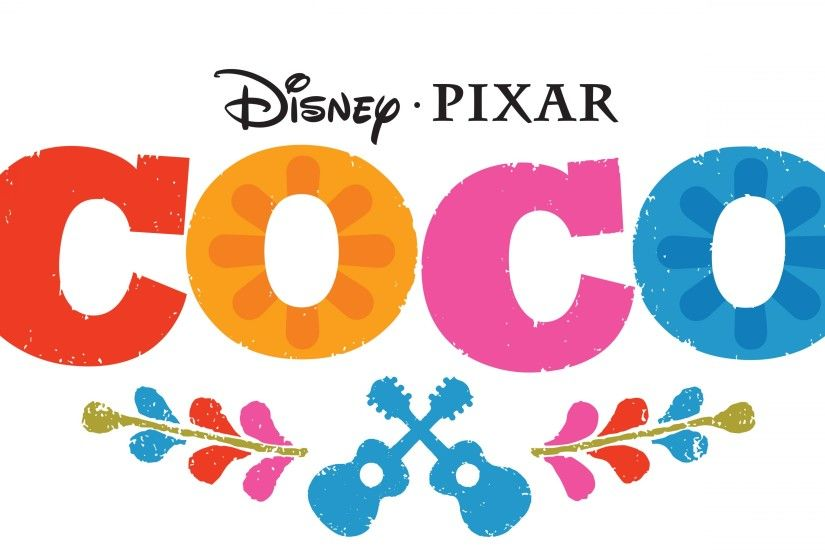 Disney Pixar Coco Movie Logo Wallpaper