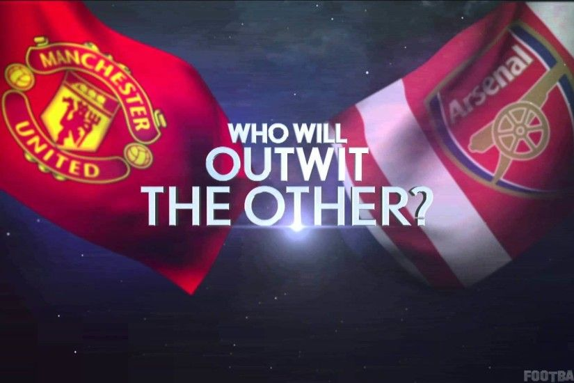 HD wallpaper of Manchester united vs Arsenal