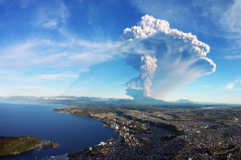 Calbuco Volcano Eruption Chile 4K Ultra HD