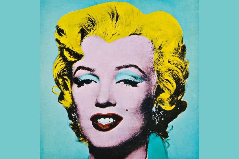 Marilyn Monroe Andy Warhol Wallpaper HD