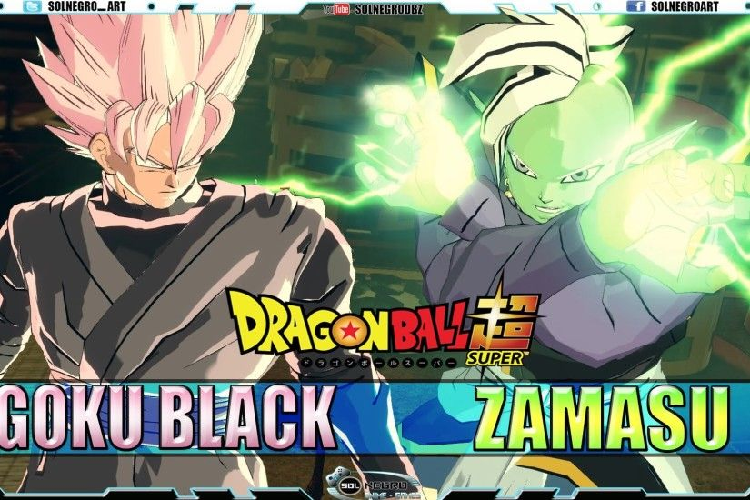 Zamasu Goku Black Rose Wallpaper HD