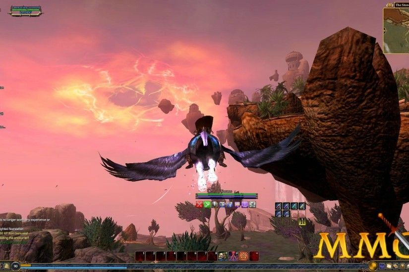 EverQuest 2 Sky Flying