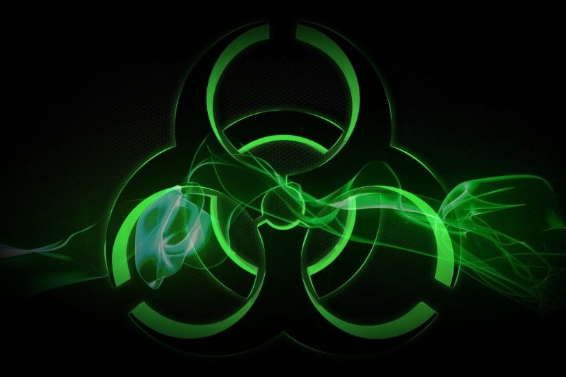 Preview wallpaper radiation, sign, symbol, background 1920x1080
