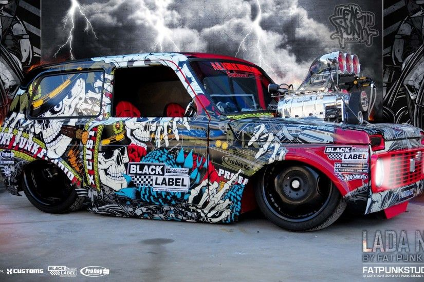Cars russian lowriders lada niva wallpaper | 2560x1440 | 9638 | WallpaperUP