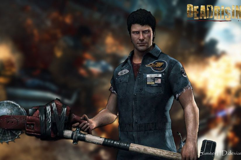 ... Dead Rising 3 Nick Ramos Wallpaper by SameerHD