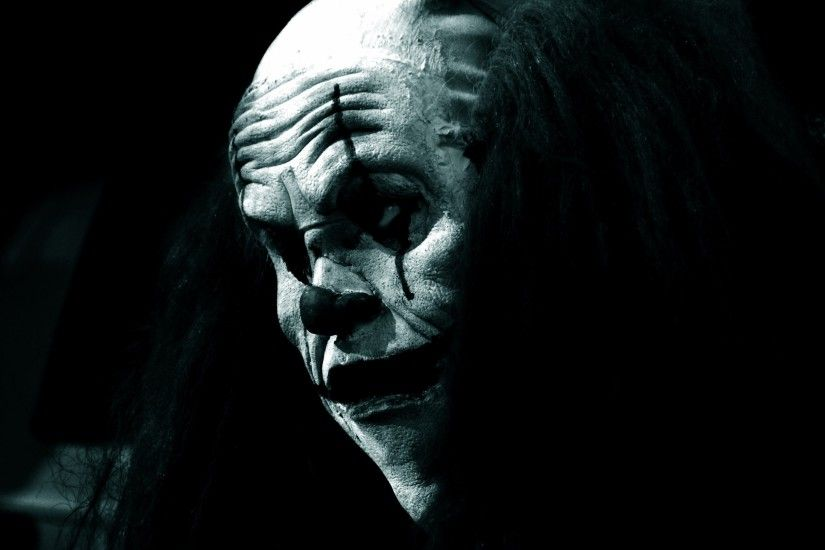 iphone, evil scary,free images, tablet, widescreen,dark, clown, blue  Wallpaper HD