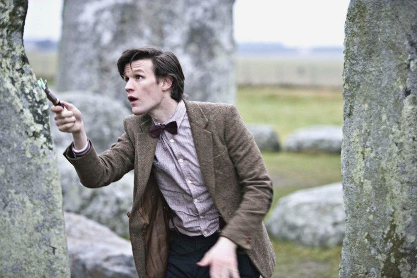 Eleventh Doctor desktop wallpaper