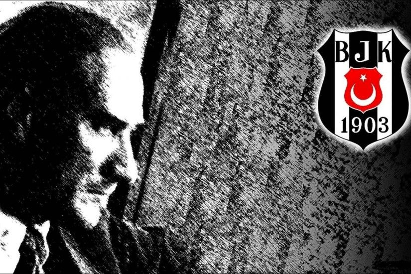 Besiktas J.K., Soccer Clubs, Mustafa Kemal Atatürk, Muslim Wallpapers HD /  Desktop and Mobile Backgrounds