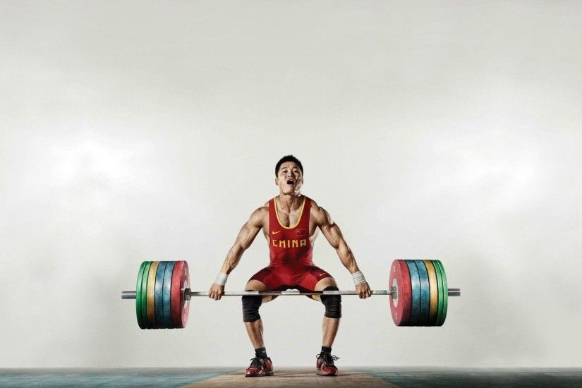 Wallpapers For > Olympic Weight Lifting Wallpaper