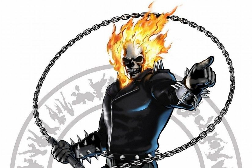 Free ghost rider wallpaper background