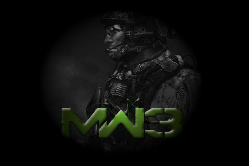 MW3 Sandman Wallpaper by X-NEON-98-X