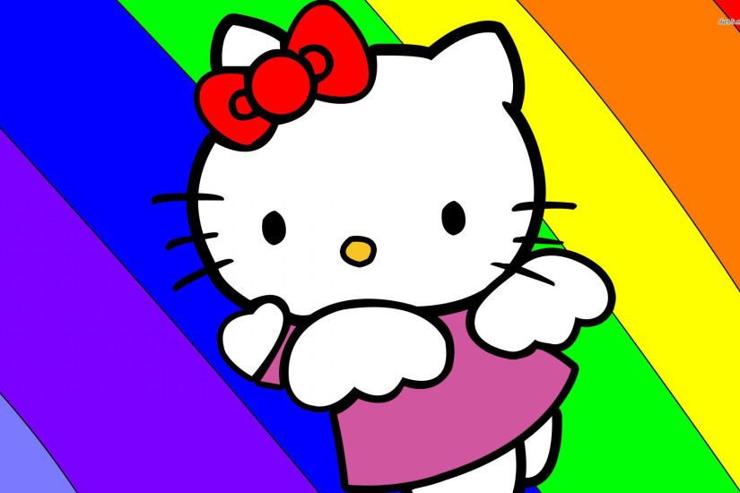 Hello Kitty Backgrounds for your desktop PC.