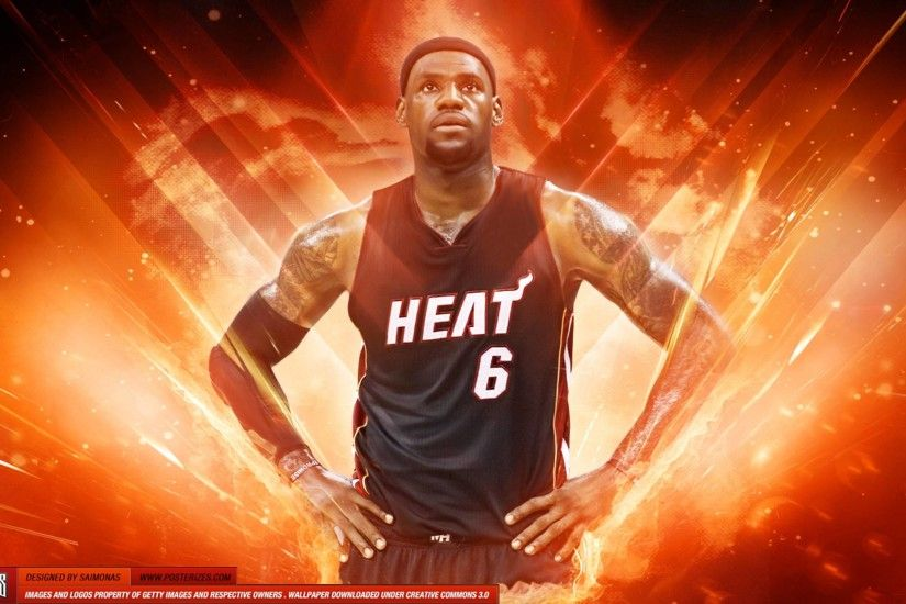 LeBron James Heat MVP HD Wallpaper #210 | TanukinoSippo.