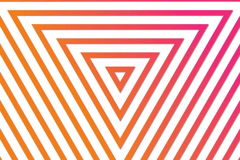 Geometric neon triangle abstract looping motion background Pink Yellow On  White Motion Background - VideoBlocks