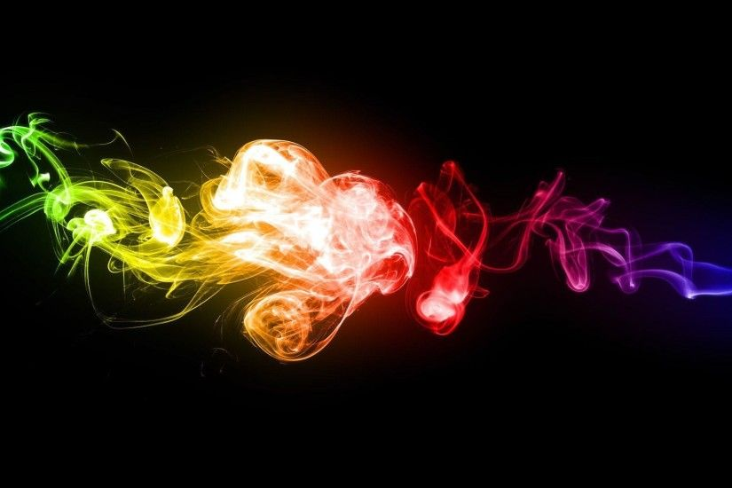 Wallpapers For > Color Smoke Background