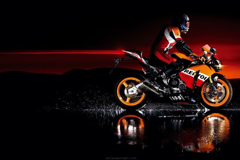 Honda Scenic Motorcycle HD Wallpaper