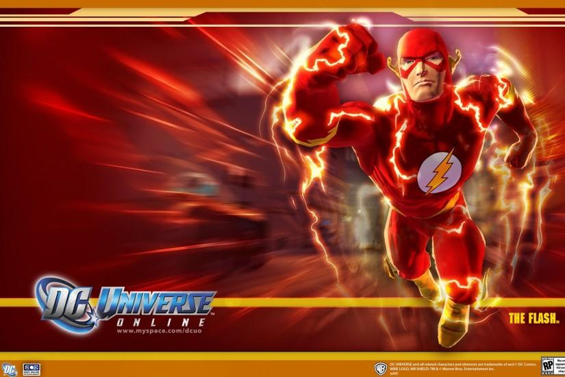DC Universe Online - Flash desktop wallpaper