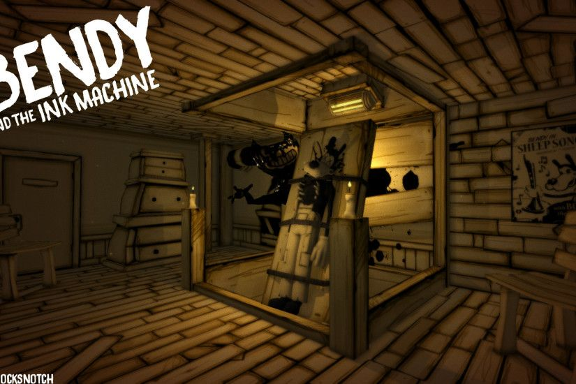 Bendy and the Ink Machine Phone and Desktop backgrounds