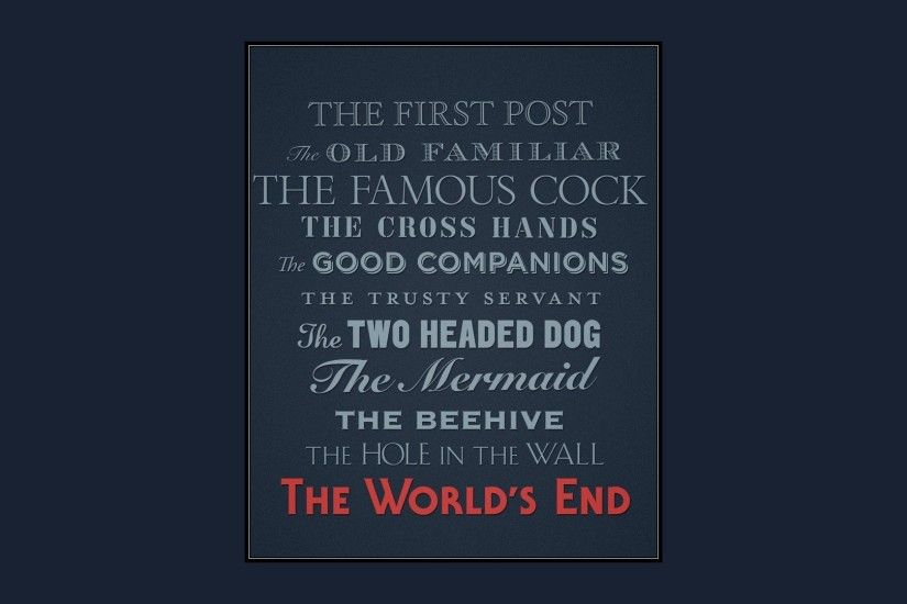 Movie - The World's End Wallpaper