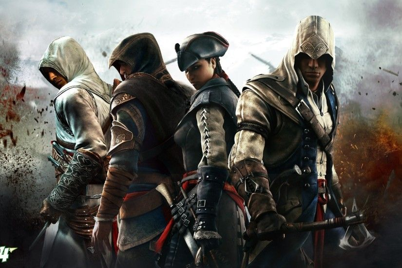 assassin's creed iii altair ezio connor evelyn