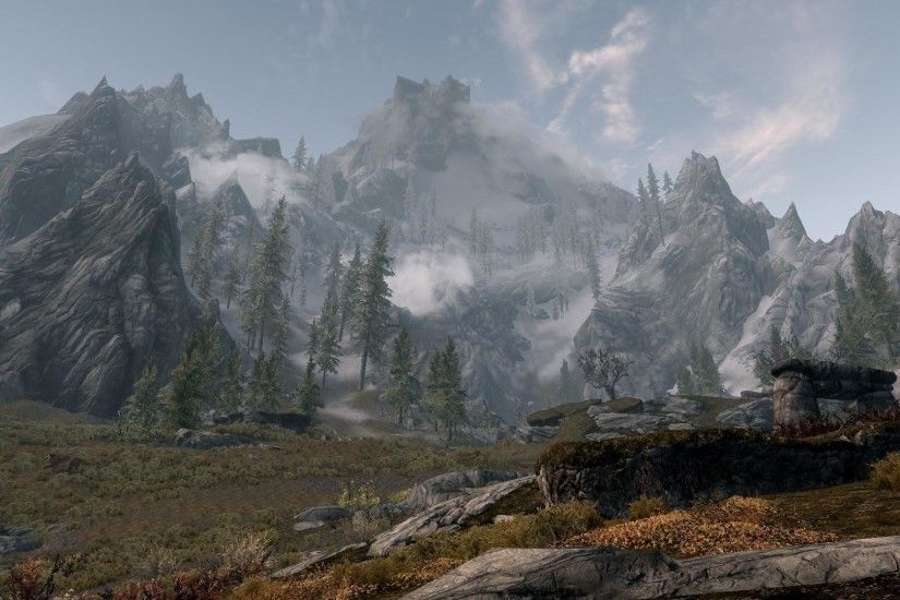 Skyrim: Mountain