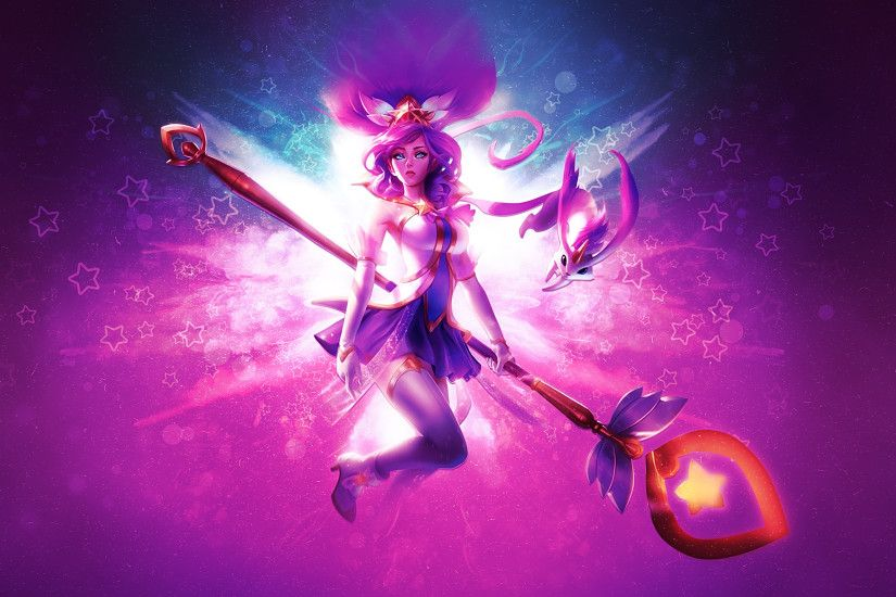Star Guardian Janna by Paulikaiser HD Wallpaper Fan Art Artwork League of  Legends lol