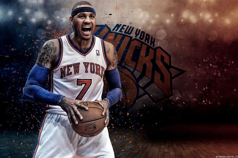 Carmelo Anthony HD Desktop