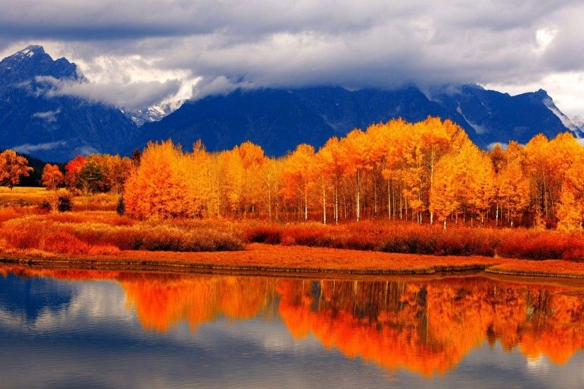 Autumn River Landscape Wallpaper Desktop Computer 192477