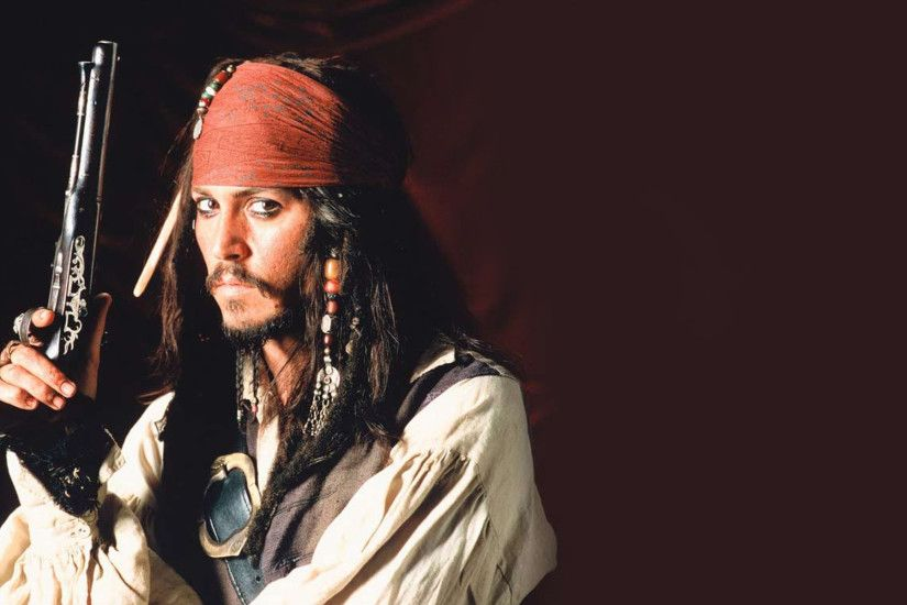 pirates of the caribbean, captain jack sparrow, johnny depp, pirate, gun