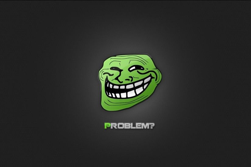 U Mad Bro Troll Face Funny Wallpaper HD Free Download