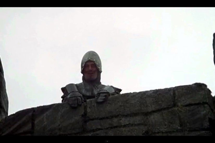 Frenchies Taunting Eanglish - Monty Python - The Holy Grail 1080p HD wide  screen 16:9