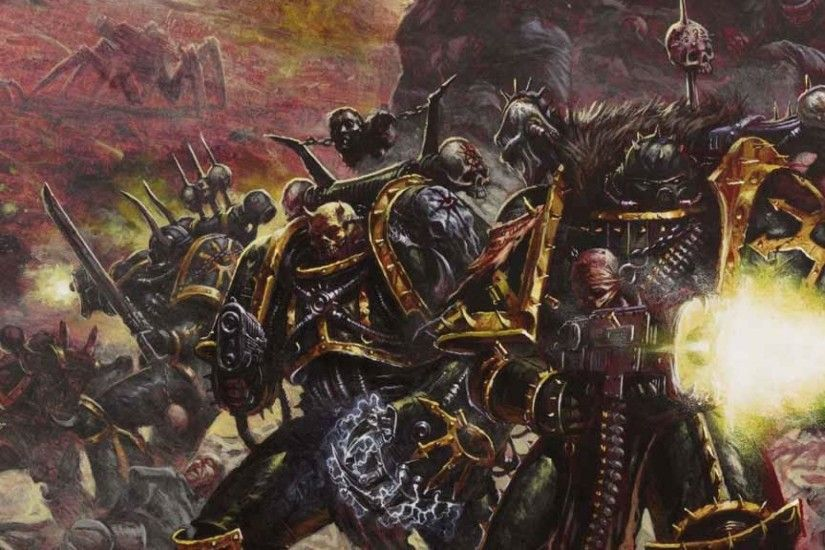 >Iron born encounter with the forces of chaos. Why are half naked chasing  after me? - Chaos Space marine
