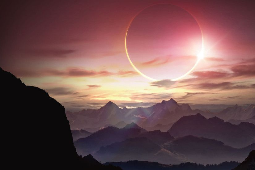 Solar Eclipse Wallpaper HD