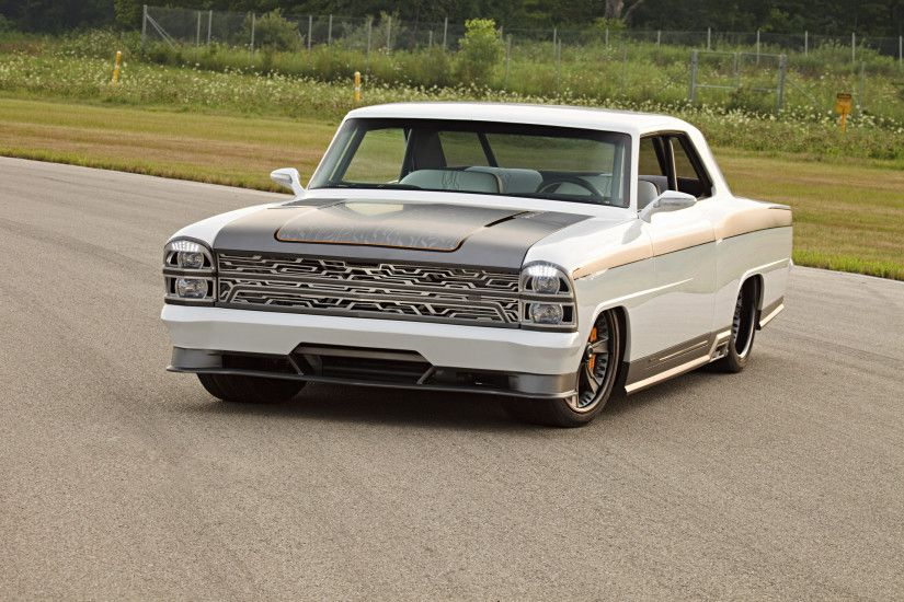 1967 Roadster Shop Innovator Chevrolet Nova - Front Angle 2 - 1920x1440 -  Wallpaper