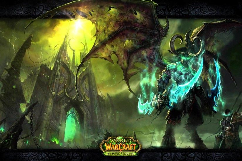 World of Warcraft - Illidan and the Black Temple - Motion Background -  YouTube