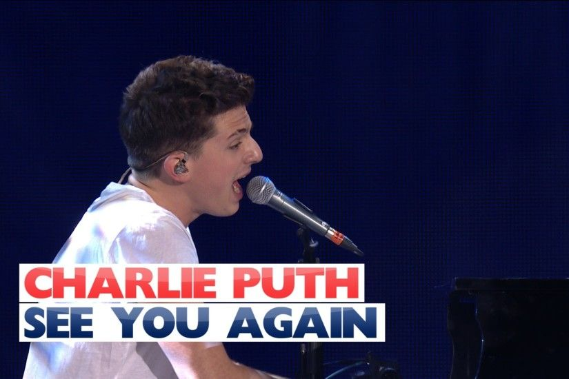 Charlie Puth - 'See You Again' (Live At Jingle Bell Ball 2015) - YouTube