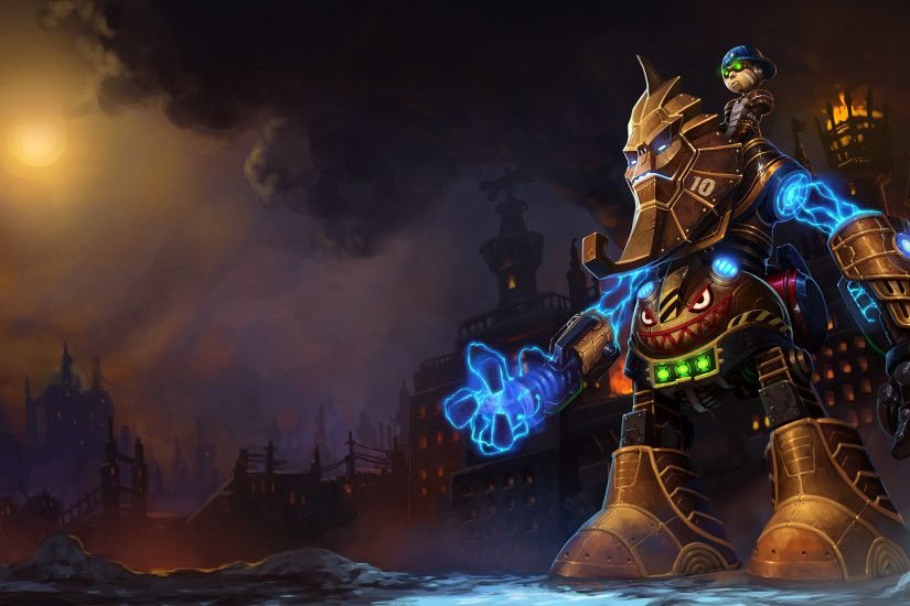 Nunu Bot Splash Art League of Legends Artwork Wallpaper lol