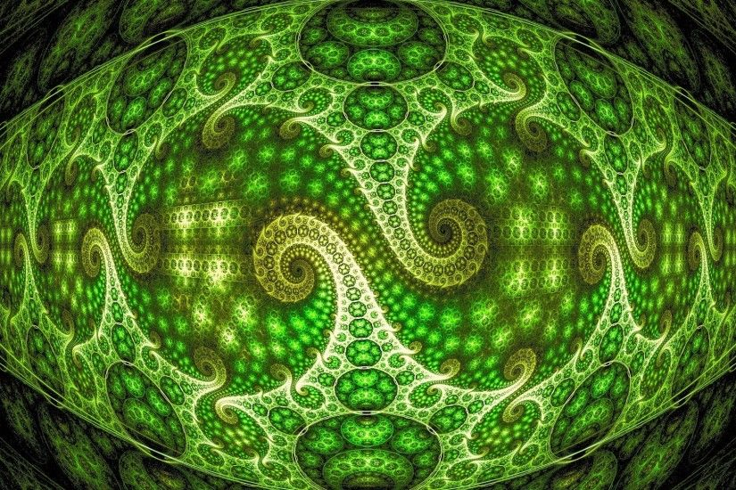 Preview wallpaper optical illusion, zoom, background, green, patterns  1920x1080