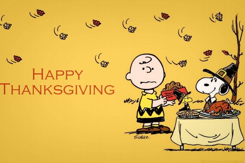 Charlie Brown Thanksgiving Wallpapers - Wallpaper Cave ...