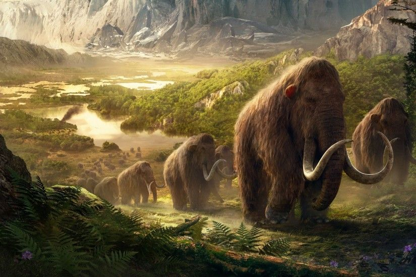 Takkar Mammoths Far Cry Primal Wallpapers