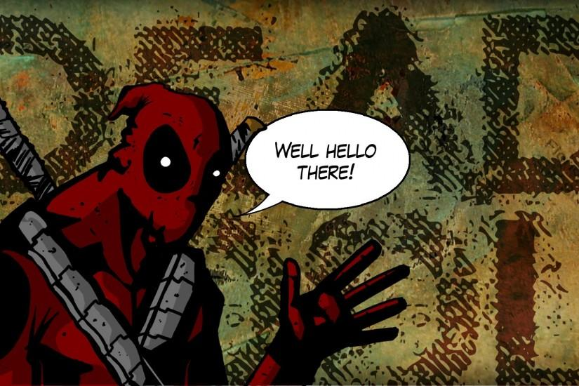 amazing deadpool background 1920x1080 for 1080p