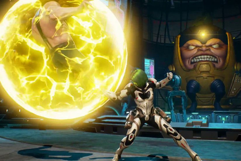Image result for marvel vs capcom infinite modok