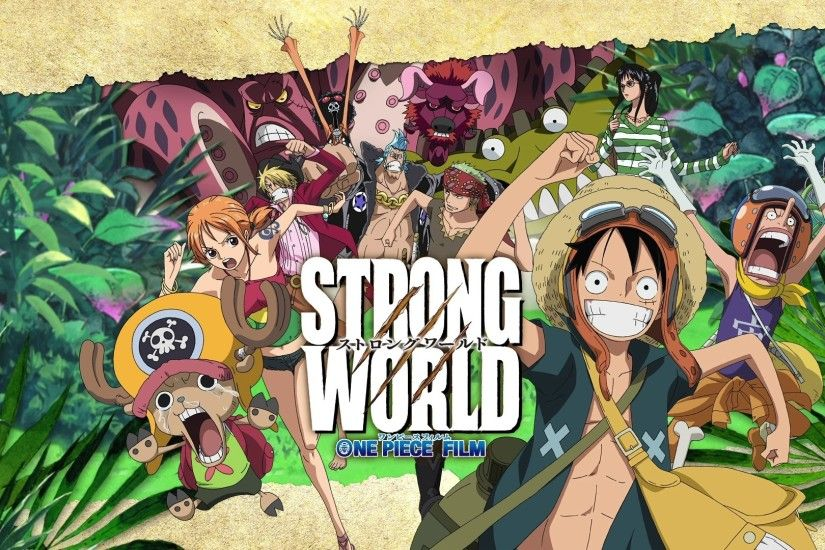 One Piece Wallpaper Strong World Anime HD