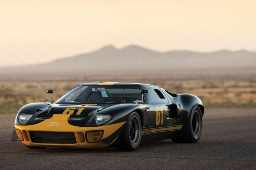 Preview wallpaper ford, gt40, 1966, sports car 3840x2160
