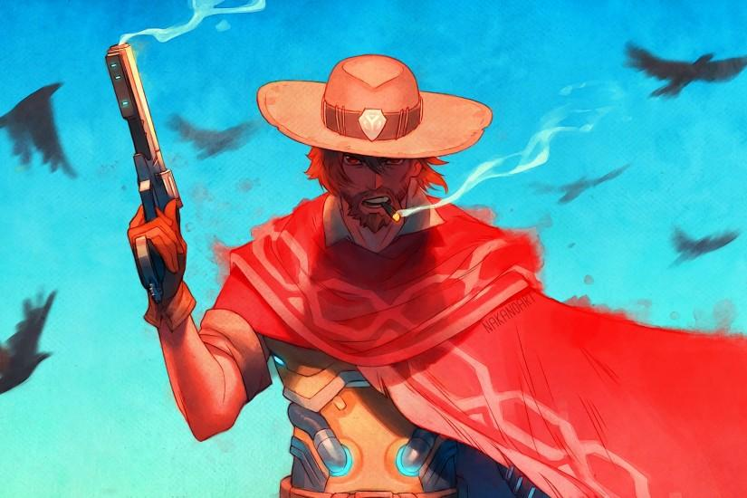 mccree wallpaper 1920x1080 for android