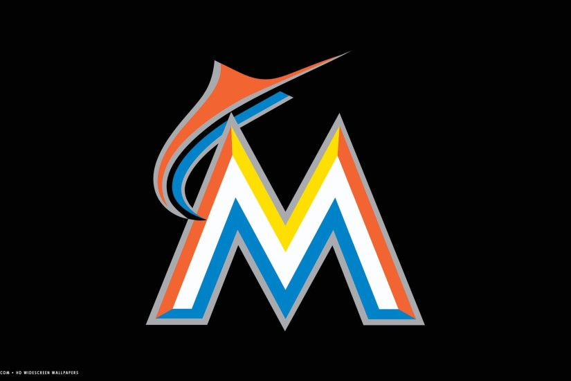 miami marlins mlb baseball team hd widescreen wallpaper