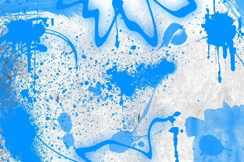 Blue Graffiti Desktop Backgrounds.