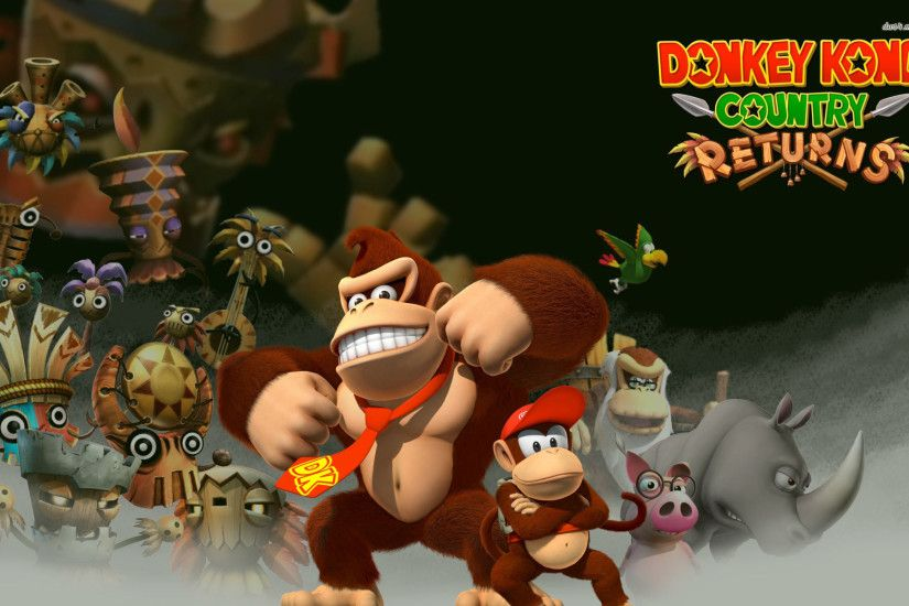... Donkey Kong Country Returns wallpaper 1920x1200 ...