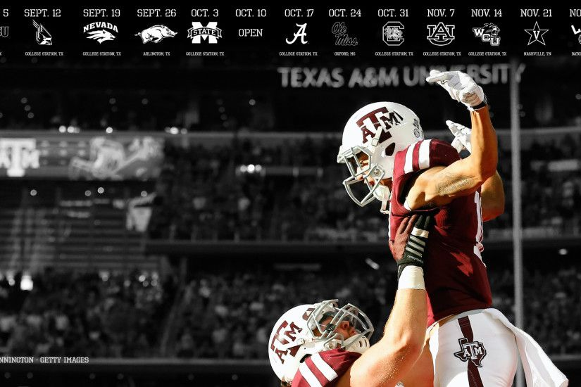 2015 TEXAS AM FOOTBALL DESKTOP WALLPAPERS
