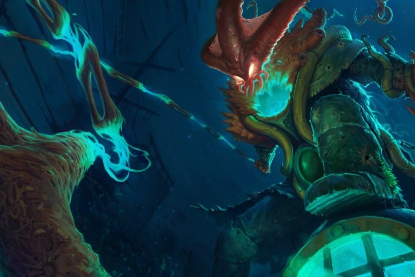 Deep Terror Thresh Skin (Original) League of Legends champion wallpaper.  Find more HD LoL desktop backgrounds in our wallpapers gallery.